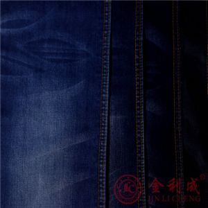 Nm31027 Cotton Polyester Lycra Denim Jeans Fabric pictures & photos