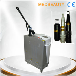 Professional Q-Switch ND YAG Laser Tattoo Removal Machine (MB-C8) pictures & photos