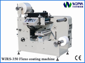 Automatic Flexo Label Coating Machine (WJRS-350) pictures & photos