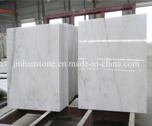 High Quality Polished White Marble Bathroom Floor Tile