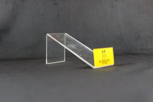 Clear Acrylic Shoe Display Stand with Customized Label pictures & photos