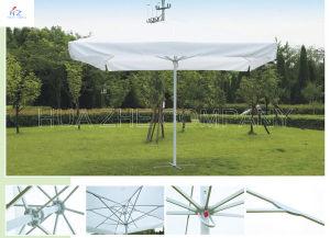 11.5X11.5ft (3.5X3.5M) Big Umbrella Double Roof Rope Pull up Umbrella Garden Umbrella Patio Parasol pictures & photos
