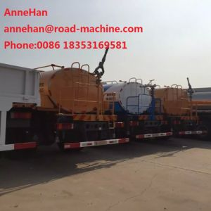 336HP HOWO Water Tanker Truck 12m3 Sprinkler with Italy Pto ABS pictures & photos