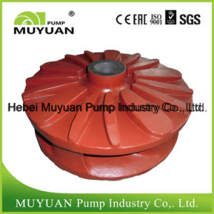 Centrifugal Rubber Material Slurry Pump Spare Parts Impeller pictures & photos