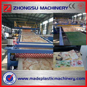 PVC Marble Sheet/Marble Plastic Sheet Making Machine pictures & photos