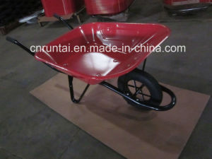 Good Function Red Color Wheelbarrow (Wb6400) pictures & photos