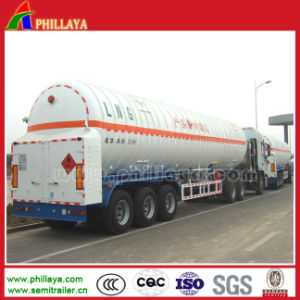 Fuel Transport LNG Tanker Truck Semi Trailer for Sale pictures & photos