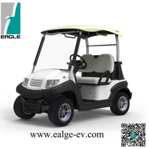 Electric Golf Car, 2 Seat, Pure Electric, 48V 5kw, AC System, with Rear Drum Brake, Bag Holder pictures & photos