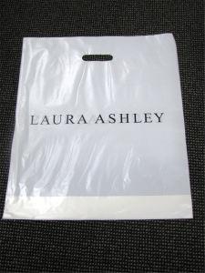Custom Die Cut Logo Plastic Shopping Bag pictures & photos