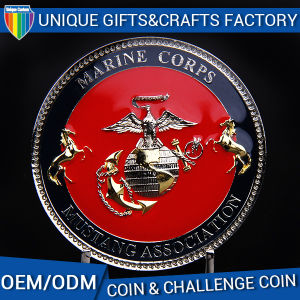Supply for Badges Soft Enamel with Epoxy Medllion Coins pictures & photos