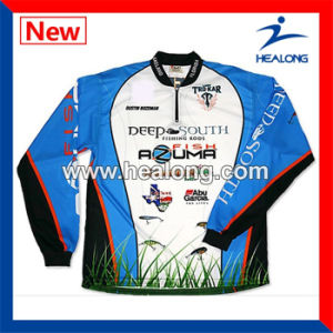 Healong Wholesale Custom Breathable Fishing Shirts Wear pictures & photos