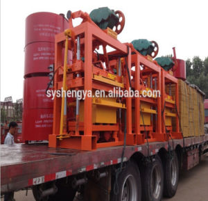 Qtj4-40 Manual Hand Press Concrete Block Making Machinery pictures & photos