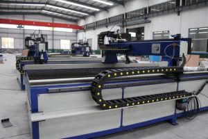 CNC Plasma Cutting Machine with Hypertherm Plasma Power Source pictures & photos