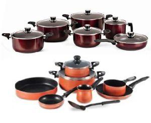 Egypt Market Aluminum Cookware Set pictures & photos