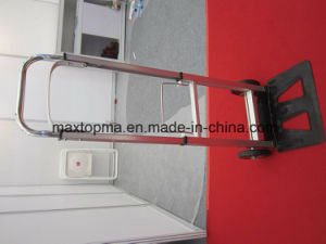 Maxtop Factory Prices Aluminum Folding Hand Truck Hand Trolley (HT1105) pictures & photos