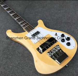 4003 4 Strings Natural Colors Electric Bass Guitar (RK-4003) pictures & photos
