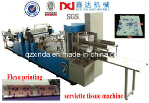 High Speed Napkin Paper Machine Flexo Printing pictures & photos