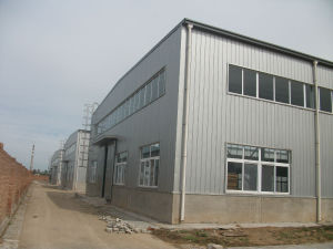 Low Cost Prefabracated Steel Storehouse (SS-16012) pictures & photos