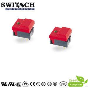 SGS Illuminated LED Tact Micro Push Button Dust-Proof PCB Spst Miniture Waterproof Switch