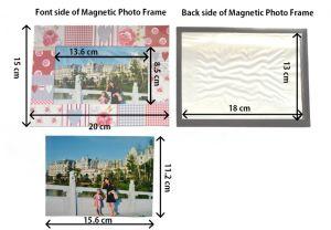 Magnetic Paper Printing Photo Frame pictures & photos