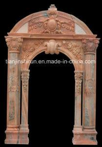 Marble Carving Door Surrounding, Door Frame, Doorway pictures & photos