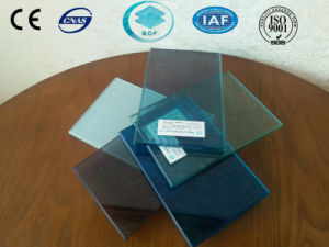 F Green Laminated Glass with Ce, ISO pictures & photos