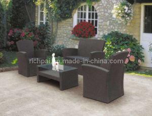 Outdoor Rattan Sofa (RHJ001)