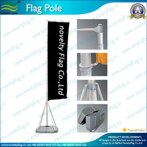 6meter High Quality Outdoor Flag Pole (NF21M01003) pictures & photos