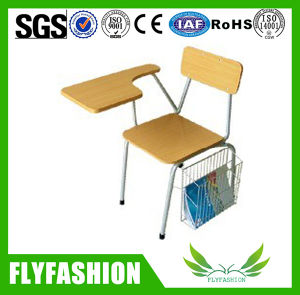 Modern Popular School Student Chair with Writing Pad pictures & photos