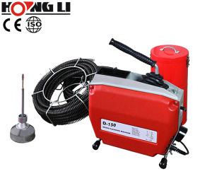 D-150 Electric Drain Pipe Cleaning Machines pictures & photos