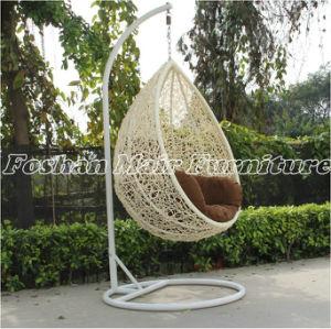 China Stylish Garden Rattan Swing Chair Outdoor Hanging