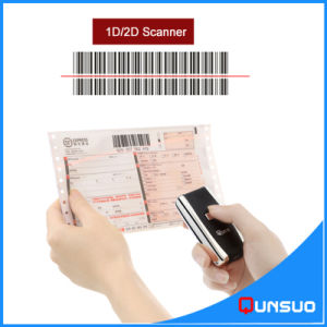 Small Size Bluetooth Handheld Supermarket Barcode Scanner pictures & photos