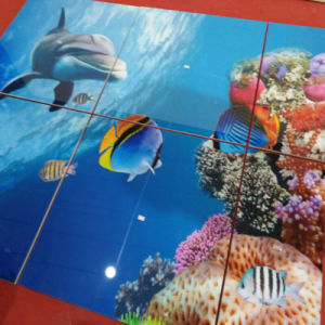 Ocean World Decoration Building Material Background Nano Crystal Ceramic Wall Tiles pictures & photos
