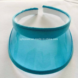UV Prevention PVC Summer Plastic Sun Visor pictures & photos