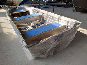 Aluminum Rescue Boat/Flat-Bottom Boat/River Boat pictures & photos