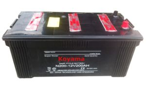 Low Maintenance Dry Charged Heavy Duty Truck Battery N200-12V200ah pictures & photos
