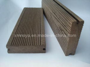 WPC Decking for Outdoor Flooring / Beside Swimming Pool Board (NY90*25) pictures & photos