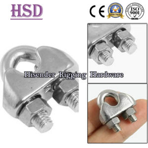 Rigging Hardware Ss316 DIN741 Wire Rope Clamp for Wire Rope pictures & photos