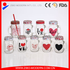 Wholesale Glass 16oz Mason Jar with Metal Lid pictures & photos