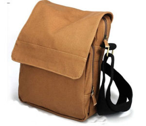 Canvas Shoulder School Bag + OEM/ODM (B731) pictures & photos