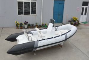 Liya 5.2m Cheap Inflatable Boat Pontoon Boat Fishing Boat China pictures & photos