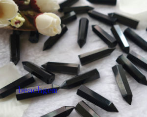 Jewelry Parts-Natural Black Onyx Pencil Beads pictures & photos