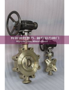 Ni Al Brass Lug Butterfly Valve Class150 pictures & photos