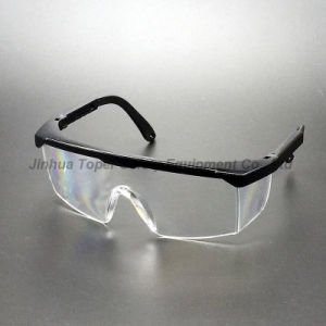 Ce En166 Approved Adjustable Legs Safety Glasses (SG100) pictures & photos