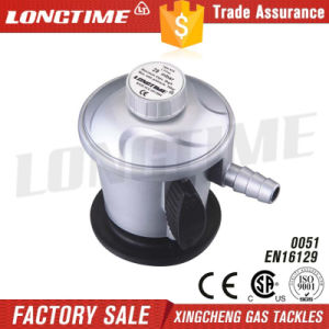 Adjustable Clip on LPG Gas Pressure Regulator
