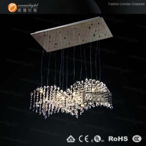 High  Quality Modern Crystal Pendant Lighting (OM9222) pictures & photos