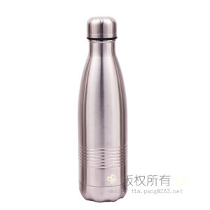 Simple Stainless Steel Cola Vacuum Bottle pictures & photos