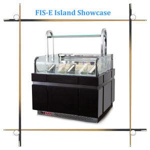 Island Cake Display Showcase