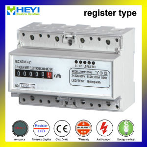 Three Phase Three Wire DIN Rail Mesure Instrument Meter pictures & photos