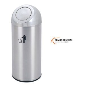 Flip Stain Stainless Steel Trash Bins& Dustbin Cover pictures & photos